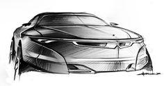 free automotive sketch on Behance