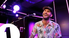 Maroon 5 cover Pharrell's Happy in the BBC Radio 1 Live Lounge for Fearne Cotton as part of Even More Music Month