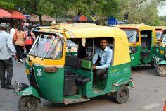 Tok tok (Taxi) India Travel, Taxi