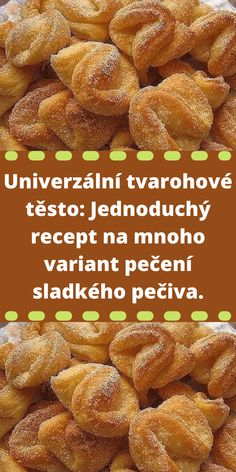 Czech Recipes, Mini Cheesecakes, Sweet Potato, French Toast, Food And Drink, Vegetables, Cooking, Breakfast, Quilling Art
