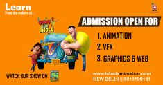 Do you want to make your career in arena animation? Visit Hi-tech animation which is one of the best animation institutes in Delhi. Animation Institute, Web Design, Graphic Design, Cool Animations, Delhi Ncr, Best Graphics, No Worries, Wordpress, Career