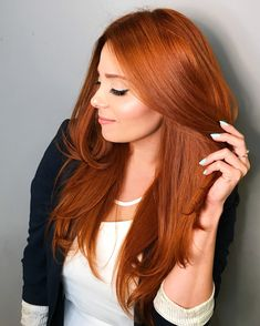 53 Fancy Ginger Hair Color Shades to Obsess over: Ginger Hai.- 53 Fancy Ginger Hair Color Shades to Obsess over: Ginger Hair Facts 53 Fancy Ginger Hair Color Shades to Obsess over: Ginger Hair Facts - Red Copper Hair Color, Hair Color Auburn, Ombre Hair Color, Cool Hair Color, Red Color, Copper Hair Dye, Copper Ombre, Reddish Hair Color, Short Copper Hair