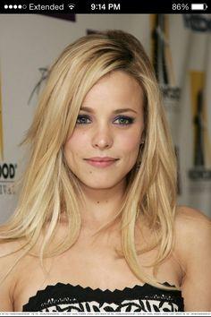 Rachel McAdams, love her with blonde hair.