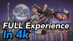 Race Through New York Starring Jimmy Fallon - Full Experience Universal Orlando, Universal Studios, Orlando Resorts, Jimmy Fallon, Racing, New York, Youtube, Running, New York City