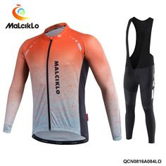 59.34$ Watch here - http://alia1w.worldwells.pw/go.php?t=32741300437 - 2016 Malciklo orange maillot ciclismo Men's Winter Cycling Jersey Long Sleeve Tour De France Jacket Clothing free shipping 59.34$