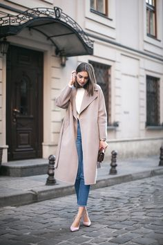Daily outfits, fashion trends and inspiration Classy Winter Outfits, Fall Outfits For Work, Casual Fall Outfits, Winter Fashion Outfits, Work Fashion, Daily Fashion, Autumn Fashion, Fashion Looks, Jeans Fashion
