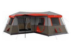 Ozark Trail 16x16-Feet 12-Person 3 Room Instant Cabin Ten...