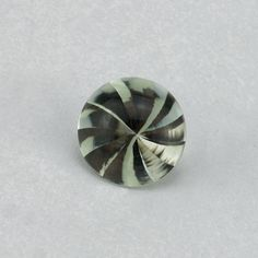 Description : GREEN AMETHYST BUFFTOP ROUND WITH TWISTED CONCAVE (DES#31) 8MM Product Size : 8MM Grade : Approx weight per piece : 1.70 Ct...