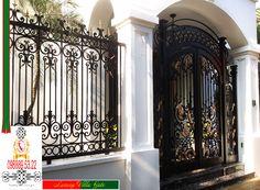 Bách khoa toàn thư mở về cửa cổng biệt thự và quy trình làm cửa cổng biệt thự 2017, cầu thang, lan can và hàng sắt mỹ thuật cao cấp.