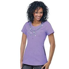 From allheart, America's Medical Superstore: Ecko Women's Rhondi Print Top