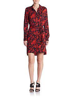 Diane von Furstenberg Prita Silk Dress