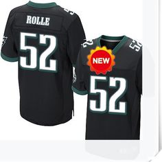$66.00--52 Brian Rolle Jersey - Nike Stitched Alternate Philadelphia Eagles  Jersey,Free Shipping! Buy it now:http://is.gd/lhNs4i