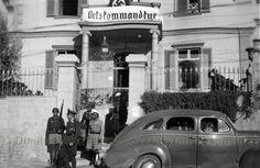 1941 ΧΑΝΙΑ .ΟΤΑΝ ΤΟ ΜΕΤΕΠΕΙΤΑ ΞΕΝΟΔΟΧΕΙΟ ΔΩΜΑ ΗΤΑΝ ΓΕΡΜΑΝΙΚΟ ΔΙΟΙΚΗΤΗΡΙΟ.ΦΑΙΝΕΤΑΙ Ο ΣΤΡΑΤΗΓΟΣ ΣΤΟΥΝΤΕΝΤ