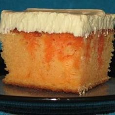 Creamy Orange Cake Recipe