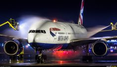 High quality photo of British Airways Boeing 777-200 by Jan Jasinski. Visit Airplane-Pictures.net for creative aviation photography.