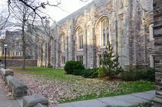 Autumn Princeton Chapel