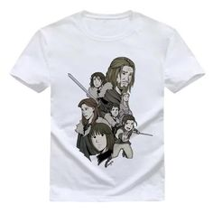 Our line of beautiful custom-designed t-shirts are fitted for a comfortable feel. All of our t-shirts are made with durable eco-friendly material. Game Of Thrones Outfits, Stark Family, Funny Tee Shirts, T Shirt, Mens Tops, Clothes, Products, Supreme T Shirt, Outfits