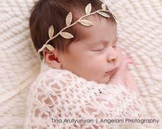 tiara de bebê diferente