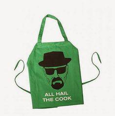 Delantal Breaking Bad All Hail the Cook | Delantales Blog