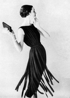 "tammy17tummy: "" 1957 "" #fringe #fashion"