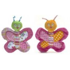 Bella & Bonnie Butterfly Rattles