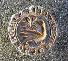 Medieval seal matrix from Coupar Angus, Perth & Kinross  (Crown copyright 2011)