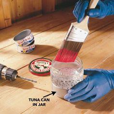 Brilliant Paintbrush Cleaning Tip