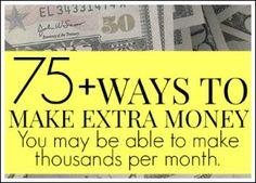 75+ Ways To Make Extra Money – Making Sense Of Cents student loan debt student loan debt payoff #debt #studentloan
