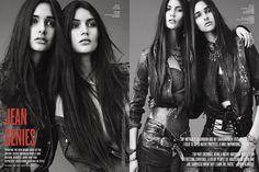 """Tom Van Dorpe styles """"Jean Genies"""" in V Magazine, S/S 2012"""