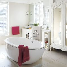 bathroom where blanche bathed herself all the time. She's soaking in the hot tub to quiet her nerves. She's terribly upset. -Stella (scene 2, pg. 82)
