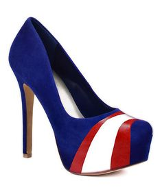 Loving this Arizona Wildcats Suede Pump on #zulily! #zulilyfinds