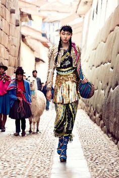 Peru - A world of hidden fashion and culture