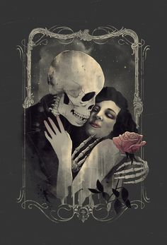 But our love it was stronger by far than the love Of those who were older than we- Of many far wiser than we- And neither the angels in heaven above, Nor the demons down under the sea, Can ever dissever my soul from the soul Of the beautiful Annabel Lee.