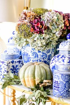 Fall Decorating Ideas - 5 Spaces to Dress your Home for Fall - Randi Garrett Design