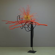 Contemporary Flower Arrangements, Creative Flower Arrangements, Ikebana Flower Arrangement, Ikebana Arrangements, Floral Arrangements, Flower Show, Flower Art, Art Floral, Floral Design