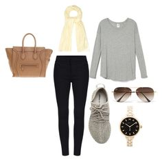 """""""simple day outfit"""" by alexa-barnes on Polyvore featuring Étoile Isabel Marant, adidas Originals, Ray-Ban, Marc by Marc Jacobs, CÉLINE, women's clothing, women's fashion, women, female and woman"""