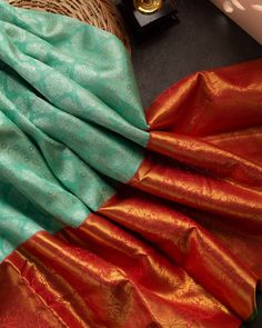 Organza Saree, Silk Sarees, Wave Dance, Ethnic Sarees, Kanchipuram Saree, Dress Indian Style, Indian Fashion, Blouse Designs, Touch