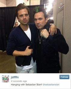 Sebastian Stan at Wizard World Philadelphia Comic Con 2014 Fan Photos