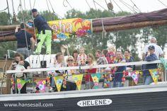 Aloha @ Hanse Sail Rostock.  Foto: Hanse Sail Rostock/Lutz Zimmermann