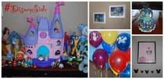 How I Show My #DisneySide with an afternoon of crafts, food and Disney fun with friends!