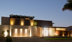 Nico van der Meulen Architects have designed the House Aboobaker in Limpopo, South Africa.