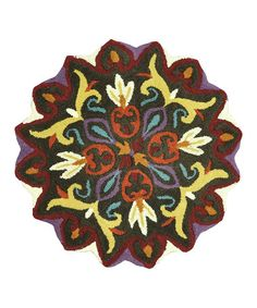 Take a look at this Brown Gardenia Wool Rug by Loloi Rugs on #zulily today!