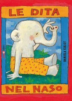 storie per bambini -dita nel naso copertina