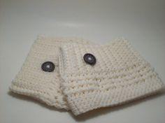 NEW  Boot Cuffs  Crochet Boot Toppers  Womens by Made4UCrochet