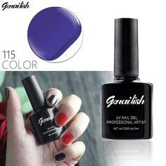 115 Colors Gel Nail Polish UV Gel Polish Long-lasting Soak-off LED UV Gel Color Hot Nail Gel 10ml/Pcs Nail Art Tools-NG3