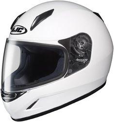 HJC Helmets CL-Y Youth Helmet (White Large) Review https://motorcyclejacketsusa.info/hjc-helmets-cl-y-youth-helmet-white-large-review/
