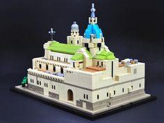 LEGO Microscale Architecture MOC MANILA CATHEDRAL, Philippines