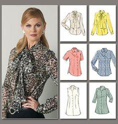 V8772  FABRICS: A: Lace. B,C,D,E,F, Contrast A: Chiffon, Silk Like Jacquard, Lightweight Jersey, Handkerchief Linen.