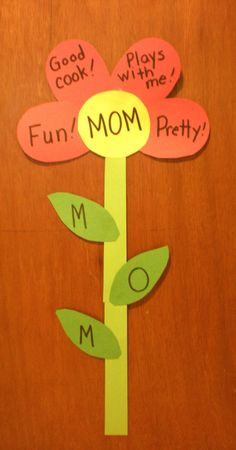 Preschool Playbook: Mother's Day