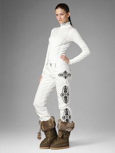 ski pants nelly off white women s ski clothing ski wear bogner